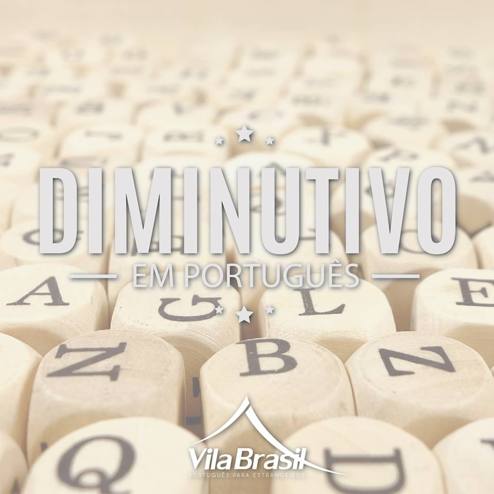como usar o diminutivo em português