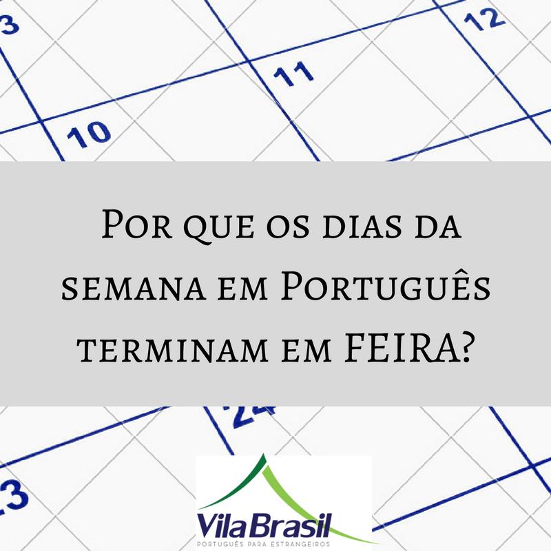 dias da semana | português para estrangeiros