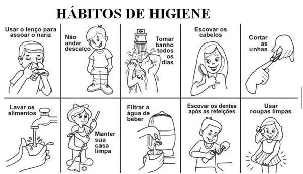 higiene - Vila Brasil - Português para estrangeiros